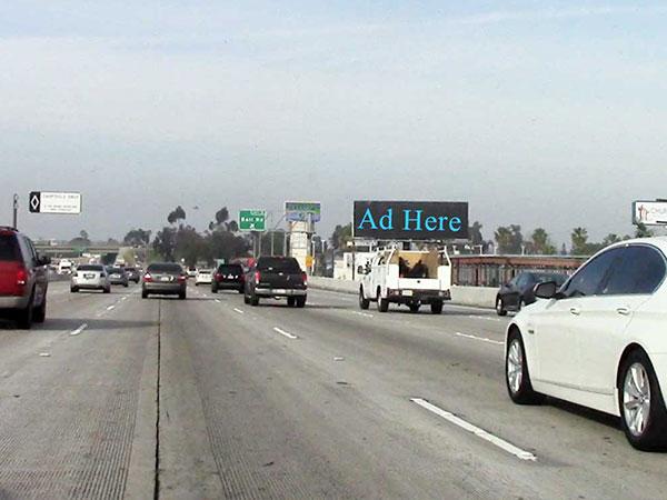55 / 91 Freeway Digital Billboard - LED in Orange County