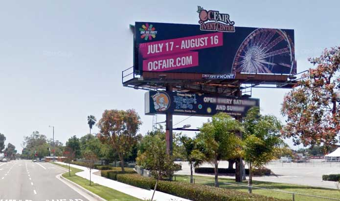 55 Freeway Billboard - Fair Dr