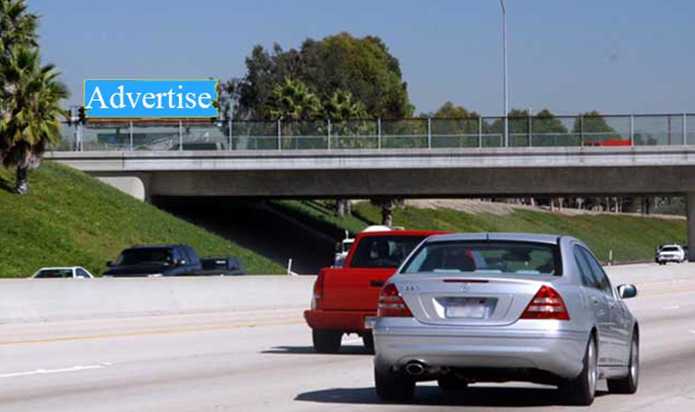 55 Freeway Billboard - Fair Dr - Costa Mesa - West Face