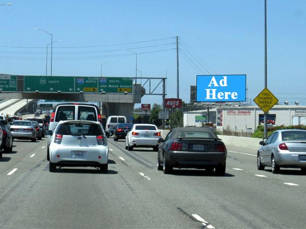 55 Freeway Jumbo Billboard (by 405 Fwy)